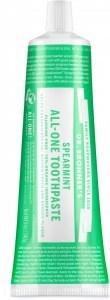 Dr. Bronner's Spearmint Toothpaste 140g