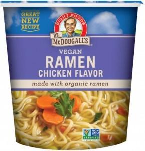 Dr McDougall Big Cup Soup Organic Chicken Ramen Noodles 51g
