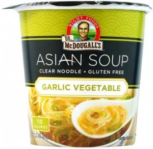 Dr McDougall Clear Noodles Garlic Vegetable  31g