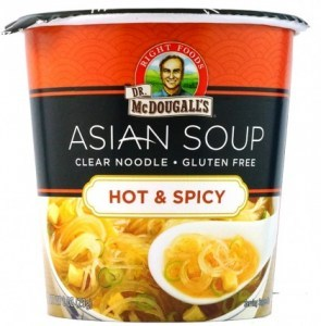 Dr McDougall Clear Noodles Hot & Spicy  28g