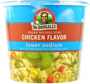 Dr McDougall Light Sodium Soup Chicken Noodle 40g