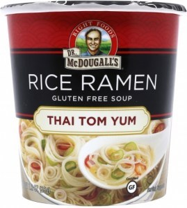 Dr McDougall Rice Ramen Thai Tom Yum 34g