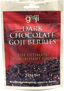 Dr Superfoods Dark Chocolate Organic Goji Berries 125g