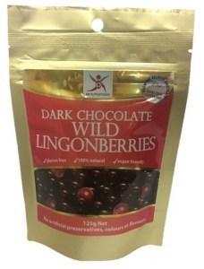 Dr Superfoods Dark Chocolate Wild Lingonberries  125g