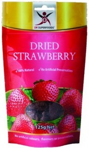 Dr Superfoods Dried Strawberry 125gm