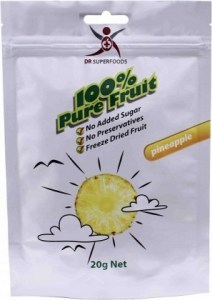 Dr Superfoods Freeze Dried Pineapple Bag  20g