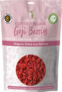 Dr Superfoods Organic Dried Goji Berries 500g