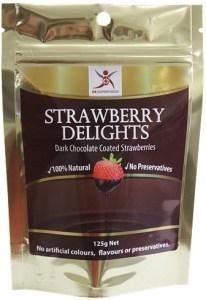 Dr Superfoods Strawberry Delights Dark Chocolate 125g