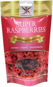 Dr Superfoods Super Raspberries Dried 125g