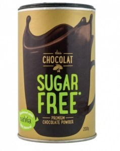 Du Chocolat Sugar Free Chocolate Powder 200g