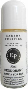 Earths Purities Ladies Natural Bianca for Her Liquid Roll On Deodorant 50ml
