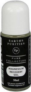 Earths Purities Magnesium Recovery Gel Yarrow Roll On 50ml