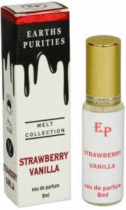 Earths Purities Melt Collection Strawberry Vanilla Eau De Parfum 8ml