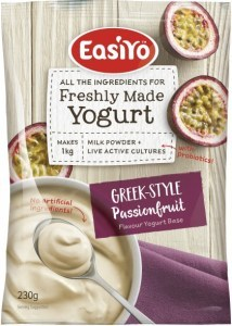Easiyo Greek Style Passionfruit Yogurt 230g