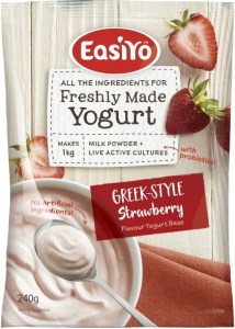 Easiyo Greek Style Strawberry Yogurt 240g