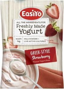 Easiyo Greek Style Strawberry Yogurt 240g