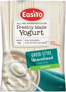 Easiyo Greek Style Unsweetened Low Fat Yogurt 170g