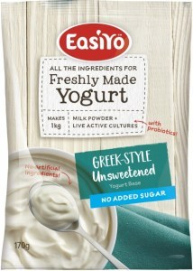 Easiyo Greek Style Unsweetened No Added Sugar Yogurt 170g