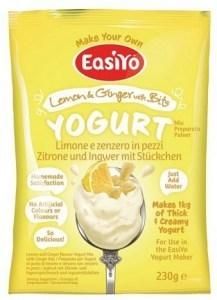 Easiyo Lemon & Ginger with Bits Yogurt 240g