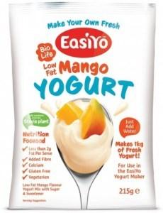 Easiyo Low Fat Sweet Mango Yogurt 215g