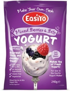 Easiyo Mixed Berries n Bits Yogurt 240g