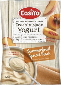 Easiyo Summerfruit Apricot Peach Yogurt 225g