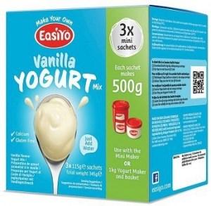 Easiyo Vanilla Yogurt Mix (3x110g) 345g AUG18