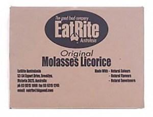 Eatrite Molasses Sticks Licorice 10Kg