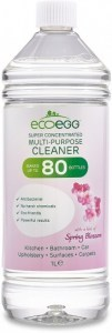 Ecoegg Concentrated Antibacterial Multi Purpose Cleaner Spring Blossom 1L