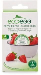 Ecoegg Fresher for Longer Discs Pack of 4