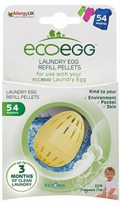 Ecoegg Laundry Egg Refill Pellets 54 Washes Fragrance Free