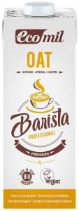 Ecomil Organic Barista Oat Milk Unsweetened 1L