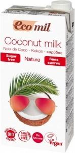 Ecomil Organic Coconut Milk Sugar Free 1L