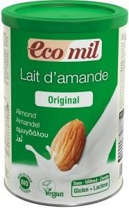 Ecomil Organic Instant Almond Powder Original  400g