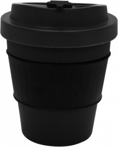EcoSouLife  All Natural BioSip Coffee Cup Dark Grey 350ml