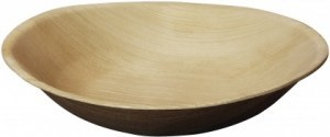 EcoSouLife Areca Leaf  (10cm) Mini Round Bowl 12Pc Pack
