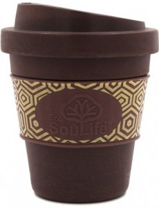 EcoSouLife Bamboo Aroma Sip Traveler Cup Coffee 355ml