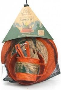 EcoSouLife Bamboo Camper Set Side Plate Orange
