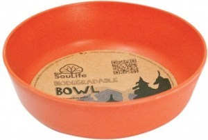 EcoSouLife Bamboo (D15 x H5cm)  Bowl Orange
