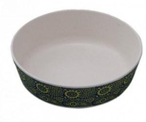 EcoSouLife Bamboo (D15 x H5cm) Print Paisley Bowl