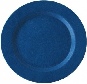 EcoSouLife Bamboo (D19.5 x H1.4cm) Side Plate Navy
