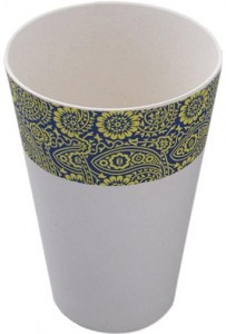EcoSouLife Bamboo Print Paisley Cup 443ml