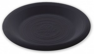 EcoSouLife Cornstarch (23cm) Main Plate Black 20Pc Set