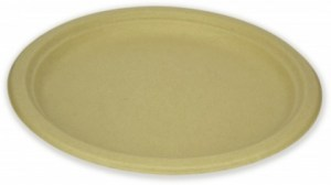 EcoSouLife Wheat Straw (D23cm) Side Plate 10Pc Pack