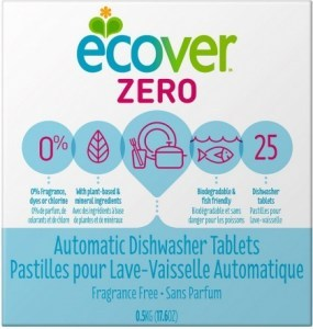 Ecover Dishwashing Tablets ZERO 500g