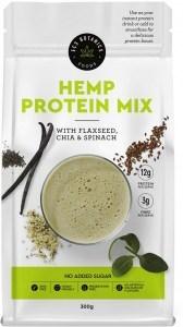 ECS Botanics Hemp Protein Mix with Flaxseed, Chia & Spinach 300g