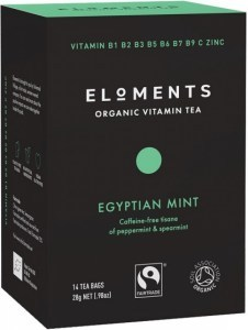 Eloments Organic Vitamin Tea Egyptian Mint 14Teabags