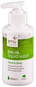 Emu Tracks Emu Oil Antibacterial Liquid Wash 200ml