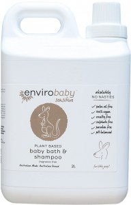 Enviro Baby Sensitive Baby Bath & Shampoo 2L