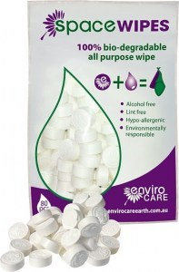 Enviro Care Space Wipes 80 Compressed Tissues